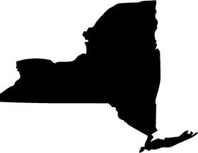 New York State Decal / Sticker 01