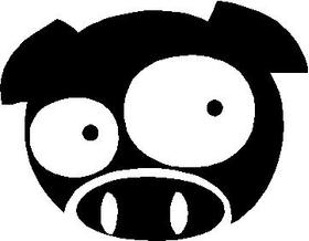 JDM Pig Decal / Sticker 05