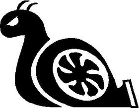 Turbo Snail Decal / Sticker 01