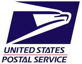 USPS Decal / Sticker 05