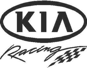 Kia Racing Decal / Sticker