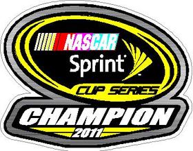 Sprint Cup Series 2011 Champion Decal / Sticker