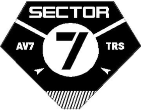 Transformers Sector 7 Decal / Sticker