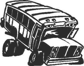 School Bus Decal / Sticker
