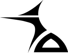 Tribal Decal / Sticker 84