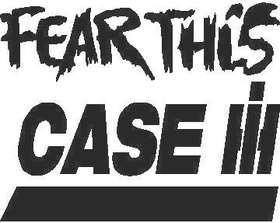 Fear This Case Decal / Sticker