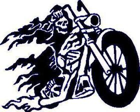 Chopper Reaper Decal / Sticker Design 1