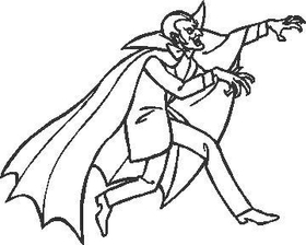 Dracula Decal / Sticker