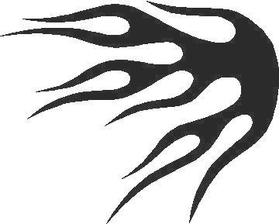 Flames Decal / Sticker 21