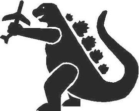 Godzilla Decal / Sticker