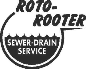 Roto Rooter Decal / Sticker