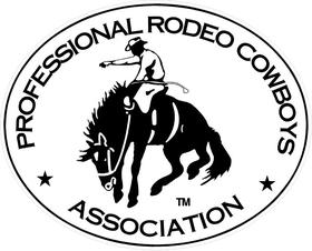 Professional Rodeo Cowboys Association PRCA Decal / Sticker 02