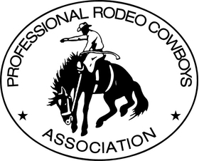 Professional Rodeo Cowboys Association PRCA Decal / Sticker