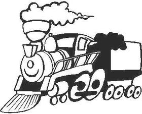 Train Decal / Sticker