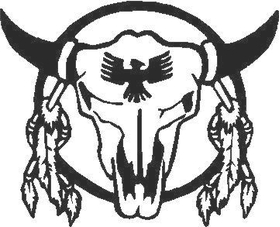 Bull Skull 03 Decal / Sticker