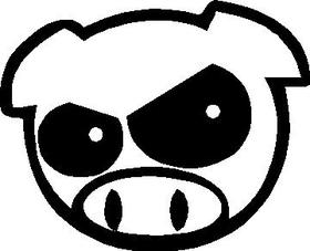 JDM Pig Decal / Sticker 06
