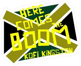 Kofi Kingston Decal / Sticker 03