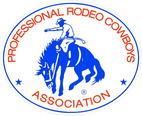 Professional Rodeo Cowboys Association PRCA Decal / Sticker 03