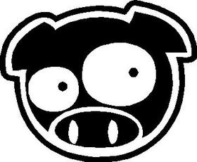 JDM Pig Decal / Sticker 04