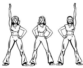 Group Dance Decal / Sticker