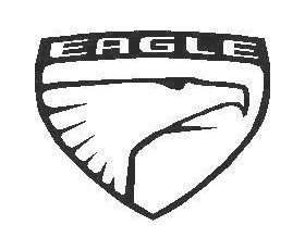 Eagle Logo Decal / Sticker