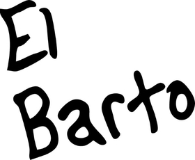 El Barto Decal / Sticker 09