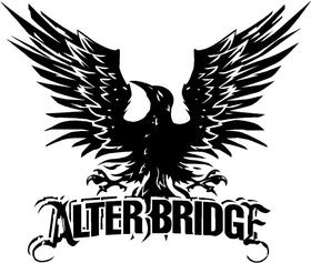 Alter Bridge Decal / Sticker 05