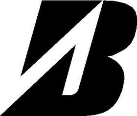 Bridgestone B Decal / Sticker