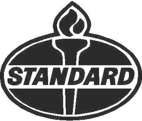 Standard Gasoline Decal / Sticker