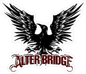 Alter Bridge Decal / Sticker 02