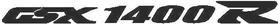 Suzuki GSXR 1400 Decal / Sticker