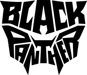 Black Panther Decal / Sticker 13