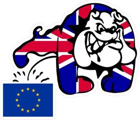 Piss On EU Decal / Sticker 01