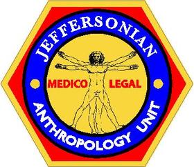 Bones Jeffersonian Anthropology Unit Decal / Sticker