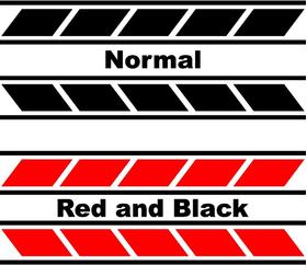 Yamaha Stripe Decal / Sticker 11 Set of 2