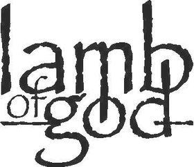 Lamb of God Decal / Sticker 02