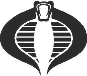 Cobra Commander Decal / Sticker