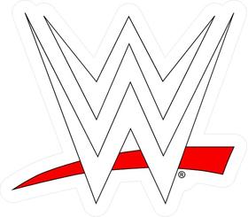 WWE Decal / Sticker 05