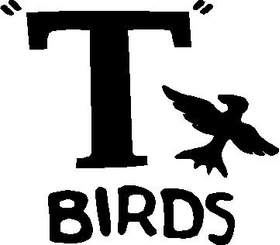 Grease T-Birds Decal / Sticker