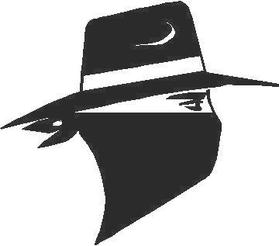 Bandit  Decal / Sticker