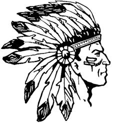 Braves / Indians / Chiefs Mascot Decal / Sticker ahd2