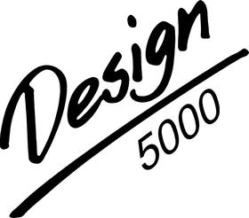 BBS Design 5000 Decal / Sticker a