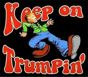 Keep On Trumpin' Decal / Sticker 02