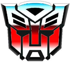Transformers Autobot 09 Decal / Sticker