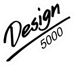 BBS Design 5000 Decal / Sticker b