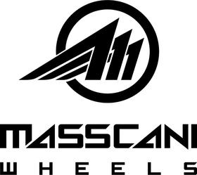 Masscani Wheels Decal / Sticker 01