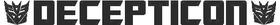 Decepticon Transformers Decal / Sticker 05