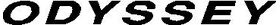 Odyssey Golf Decal / Sticker 03