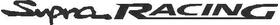 Toyota Supra Racing Decal / Sticker 02