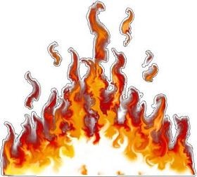 True Fire Decal / Sticker 27